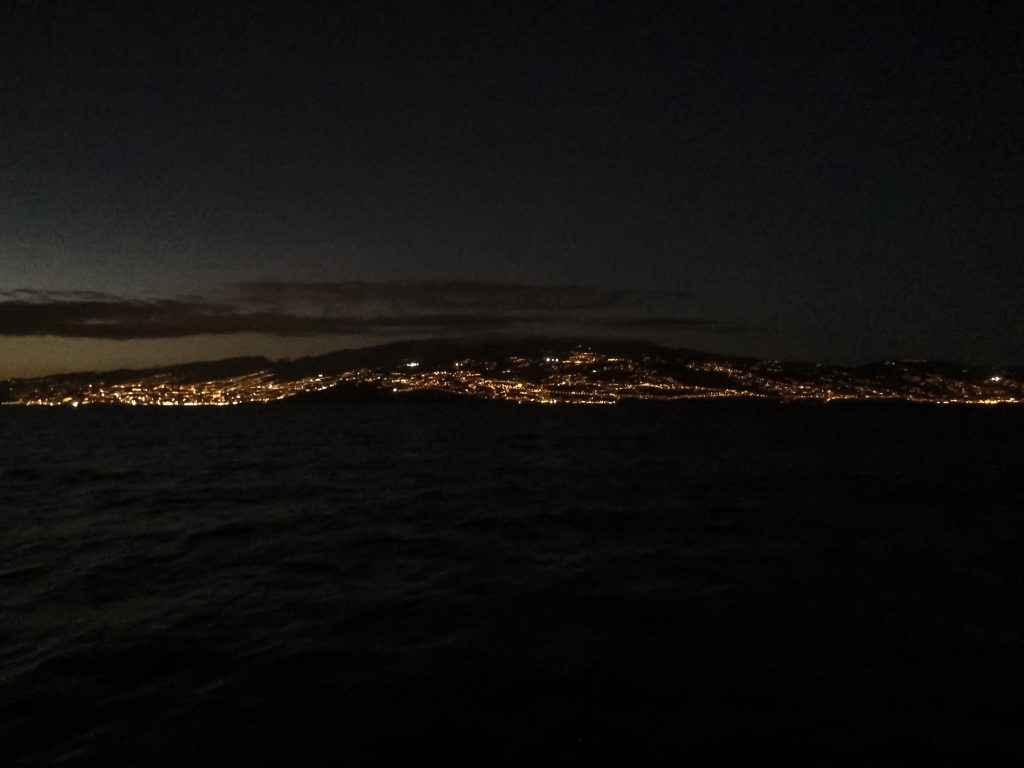 Madeira at night