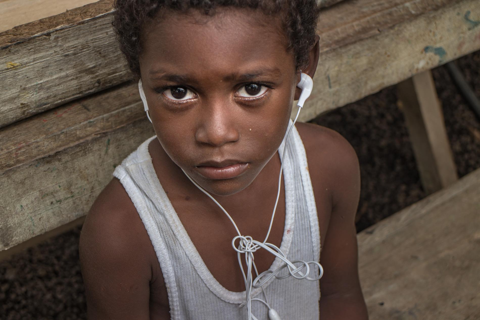 Afro-Ecuadorean child